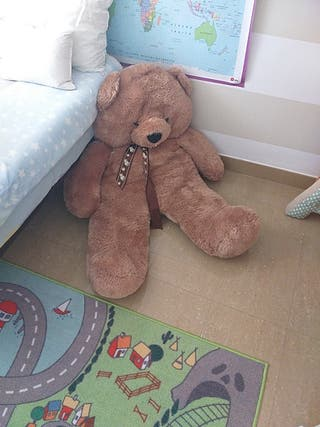 muñeco oso de peluche