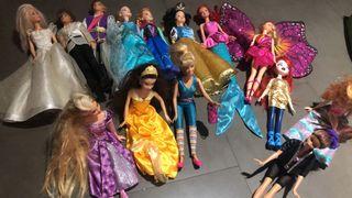 Barbies y vestidos