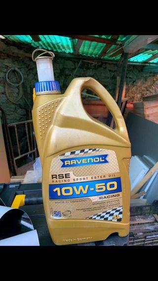 Aceite Ravenol 10w50 Racing