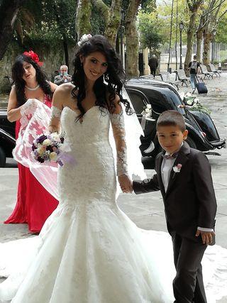 043a9df92 Vestido de novia Pronovias de segunda mano en Bilbao en WALLAPOP