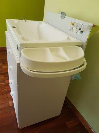 Mueble baño cambiador bebe