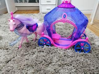 juego de carroza y caballo infantil