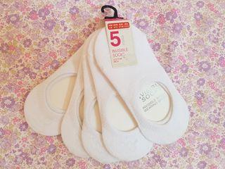 5 calcetines piquis SIN ESTRENAR. N° 27-30