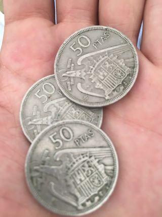 50 pesetas 1957 *58