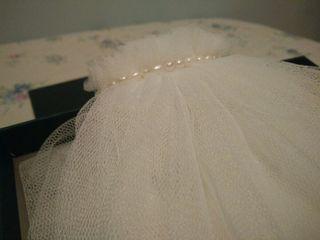 velo a medida con perlas.
