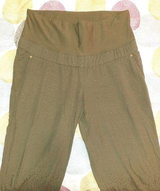 Pantalón Pre-Mamá verde H&M