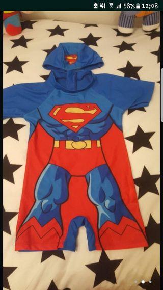 Mano 12 Bañador Y Superman De Por Segunda Gorro dhorCBQxst