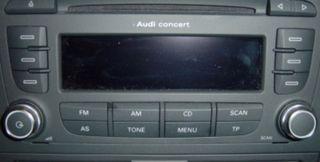 Radio concert Audi a3 8p