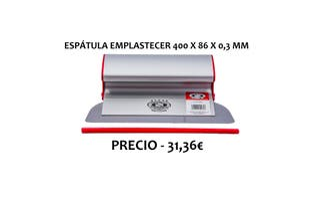 ESPÁTULA UNIVERSAL 400 X 86 X 0,3 MM