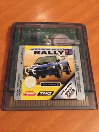Colin McRae Rally Game Boy Color