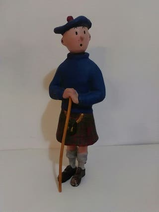 Figura Tintin cartonpiedra