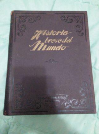 Libro historia breve del mundo