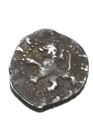 Felipe III, 2 Maravedis Plata año 1601 Burgos.