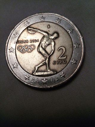Moneda Grecia 2004