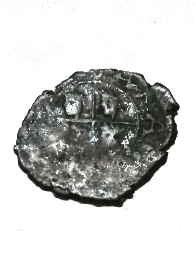 Moneda Medieval de Plata, Nº 176.
