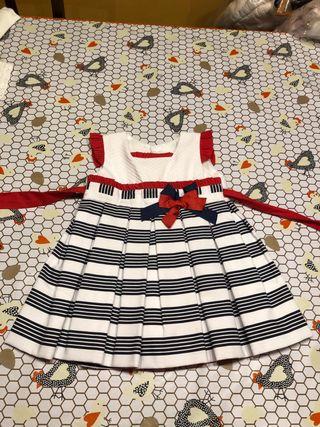 Vestido 12 meses verano