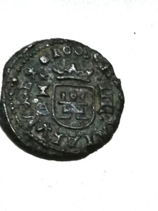 Felipe IV, 4 Maravedis del año 1605.