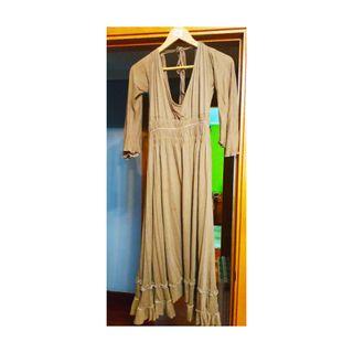 vestido estilo griega de la marca Nada Naf