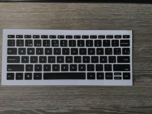 Cubierta para teclado xiaomi Mi notebook air 13