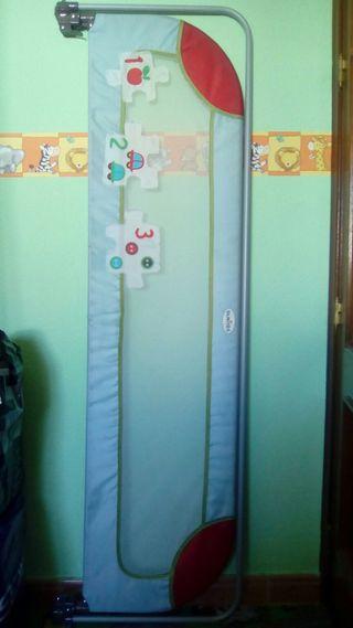 barrera cama para niños