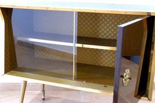 Mueble bar aparador o de tv vintage años 50