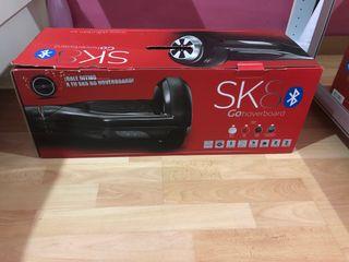 Patinete electrico SK 8 con Bluetooth