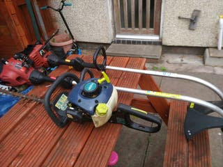 2 strimmers heagebutter and segway