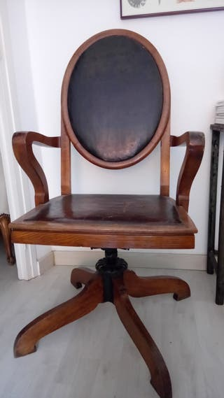 Silla escritorio antigua