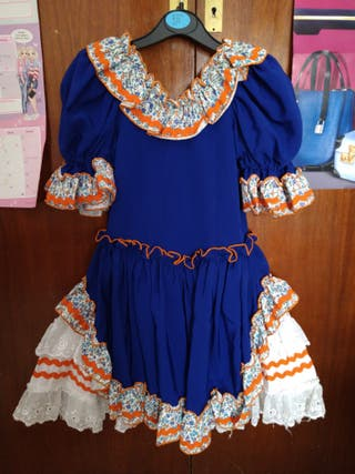 vestido de gitana rociero
