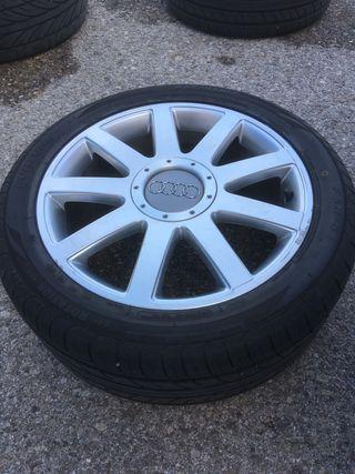 Llantas 17 pulgadas de Audi