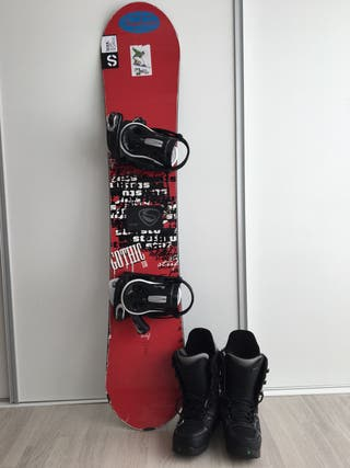 Equipo completo snowboard