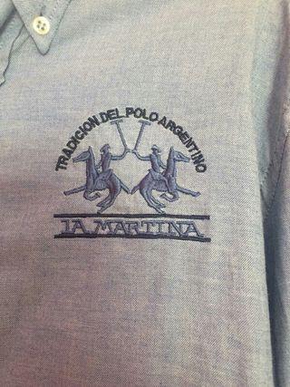 camisa marca LA MARTINA