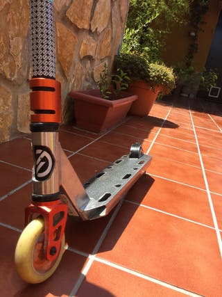 Patinete scooter freestyle oxelo mf3.6 v4
