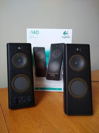Logitech X-140 Multimedia Speakers