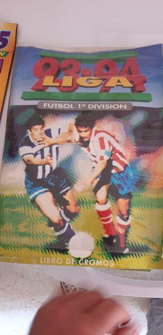álbum de fútbol liga 93/94