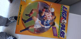 álbum de fútbol liga 94/95
