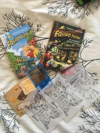 Libros de la colección Equipo Tigre