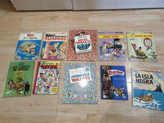 lote libros comics lectura