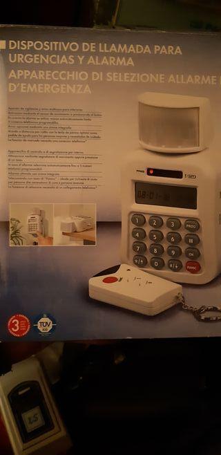 Alarma nueva mando inalambrico con botón panico