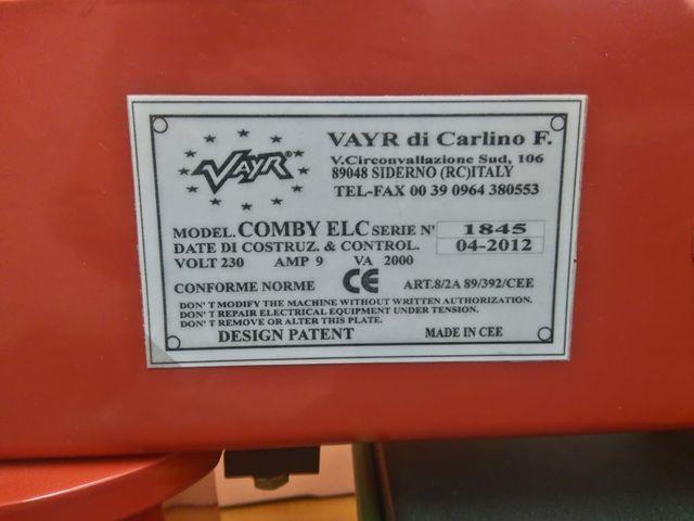 Prensa de calor profesional Vayr Comby