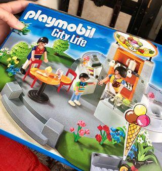 Heladeria Playmobil