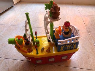 Barco pirata.