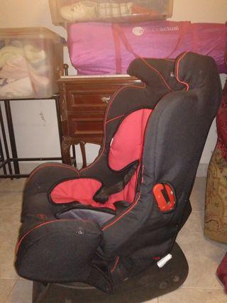 silla del coche