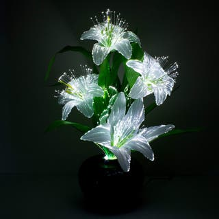 FIBRE OPTIC COLOUR CHANGING LILLY
