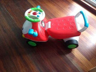 Cochecito andador y correpasillos para bebés