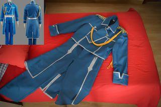 Disfraz Fullmetal Alchemist Roy Mustang Talla S