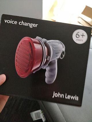 John Lewis Voice Changer