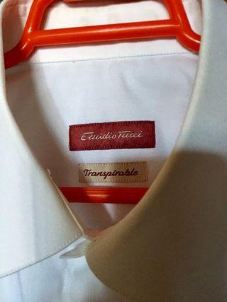 Camisa caballero Emidio Tucci blanca