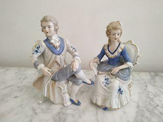 Antiguas figuras de porcelana. Vintage