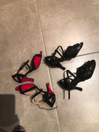 ef8fb784b Zapatos de baile con suela de cuero de segunda mano en WALLAPOP